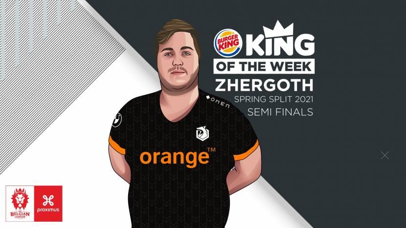Zhergoth blijft domineren en wint de King of the Week-award