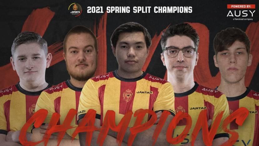 KVM Esports komt terug van 0-2 en wint Belgian League