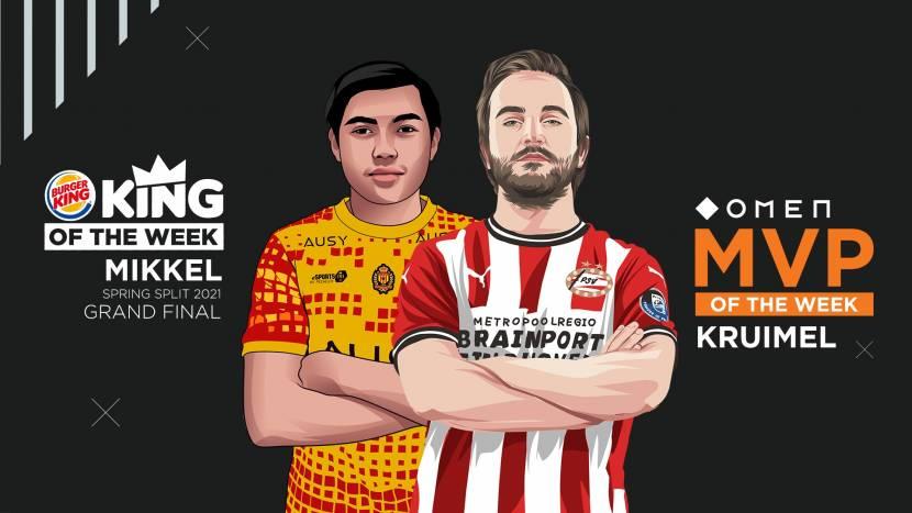 Mikkel en Kruimel helpen respectievelijk KVM Esports en PSV Esports naar EU Masters
