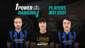 CS:GO Benelux Power Ranking Spelers - Mei 2021