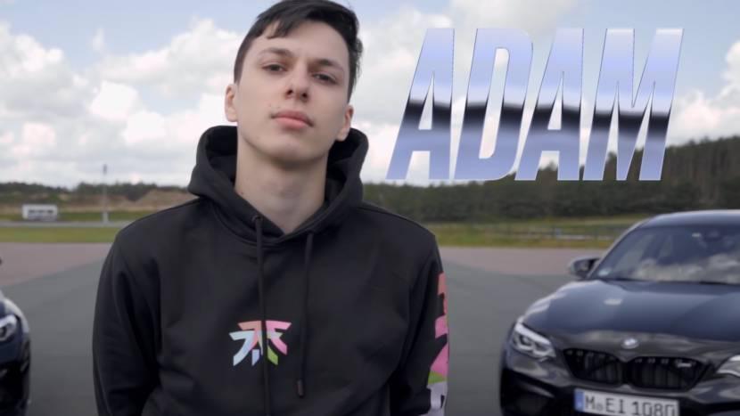 Adam officieel aangekondigd bij Fnatic