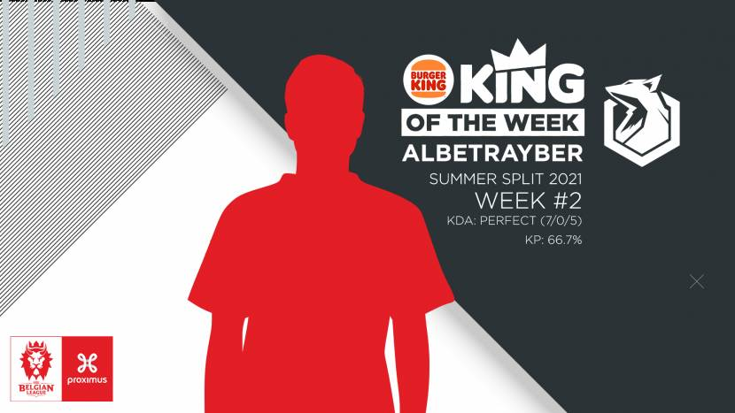 Albetrayber is Burger King King of the Week