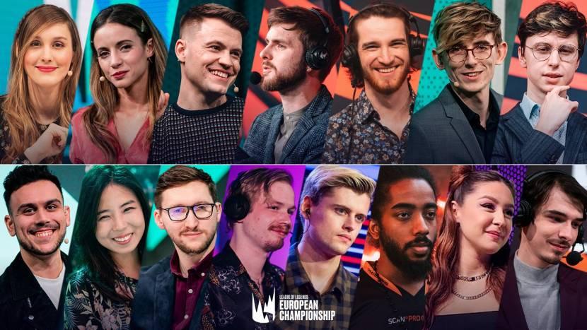 Dit is het LEC On-Air Talent voor Summer Split 2021
