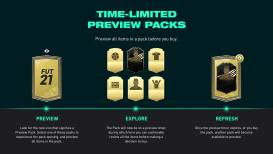 FIFA 21 voegt preview packs toe