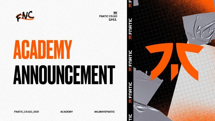 Fnatic presenteert CS:GO academyteam