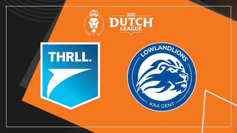 Wie haalt de Dutch League play-offs: Team THRLL of LowLandLions?