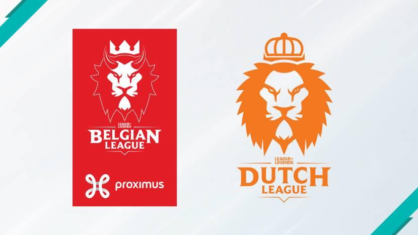 Team 7AM en Team THRLL pakken laatste strohalm Belgian en Dutch League