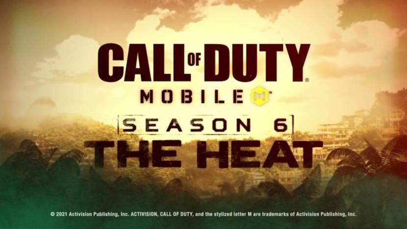 Season 6 van Call of Duty heet The Heat