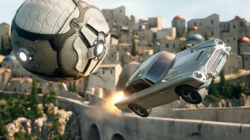 Rocket League crossover met James Bond: Aston Martin DLC