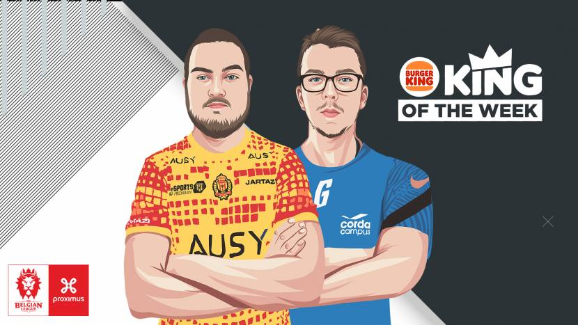 Junglers Urban en Guertas winnen Burger King King of the Week