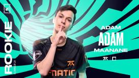 Fnatic top laner Adam is beste rookie van de LEC Summer Split 2021