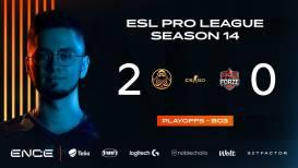 ENCE klopt forZe en trekt richting kwartfinales ESL Pro League Season 14