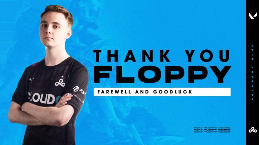 Floppy vertrekt bij Cloud9 en stopt met competitief gamen