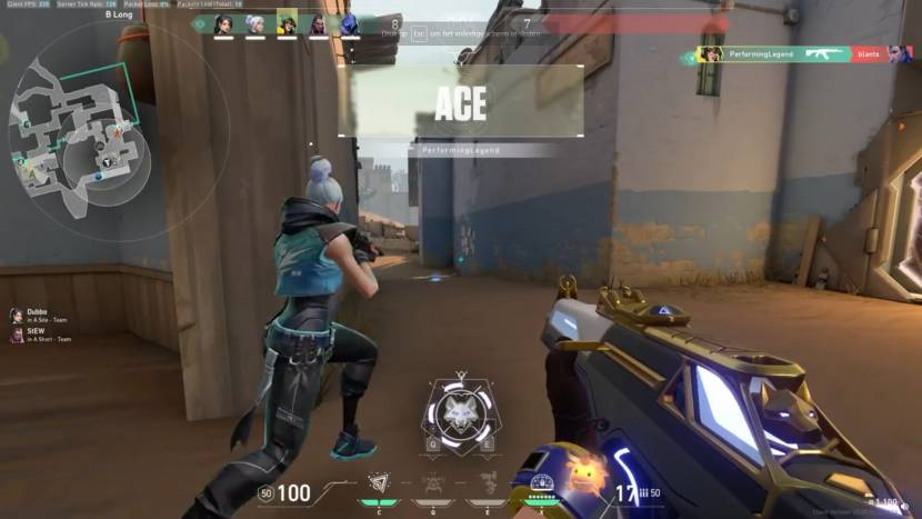 Trigger discipline levert deze Killjoy ace op in Valorant