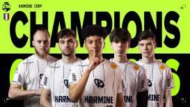 Karmine Corp wint als eerste team ooit EU Masters twee keer achter elkaar