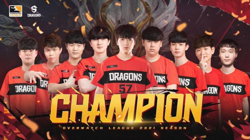 Shanghai Dragons wint Overwatch League kampioenschap