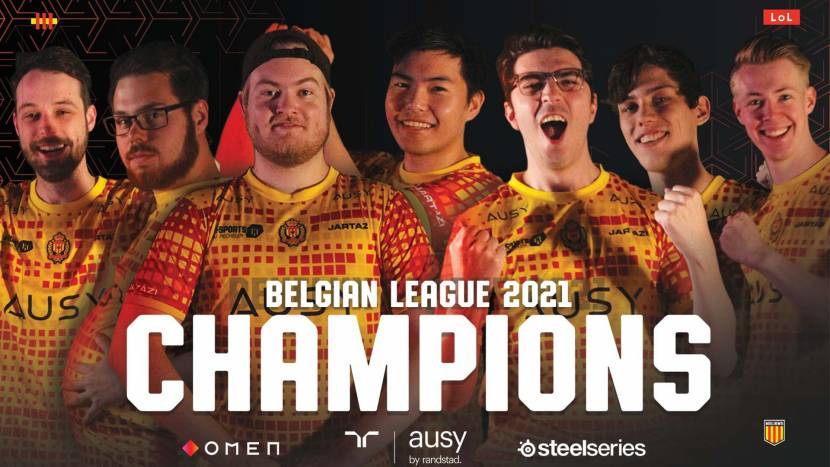 KVM Esports wint Belgian League Country Finals