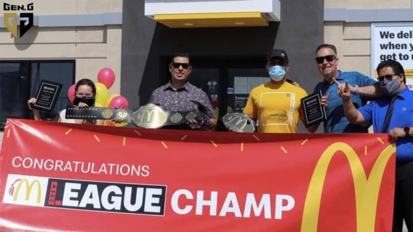 McDonalds begint aan esportsopmars met Gen. G