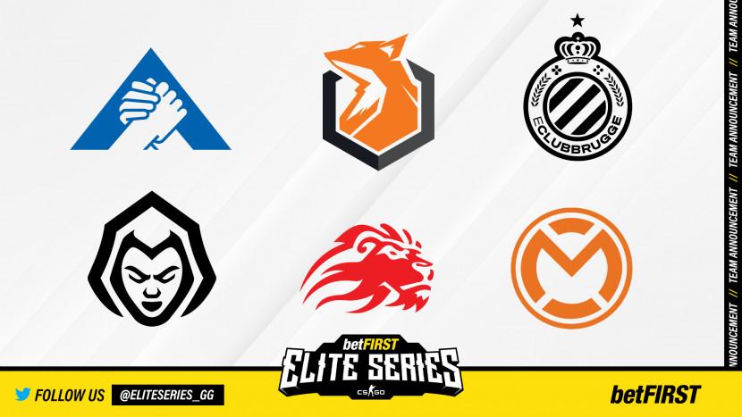 Overzicht: Deze teams nemen deel aan de CS:GO Elite Series